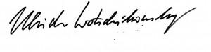 Unterschrift UW 30