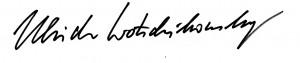 Unterschrift UW