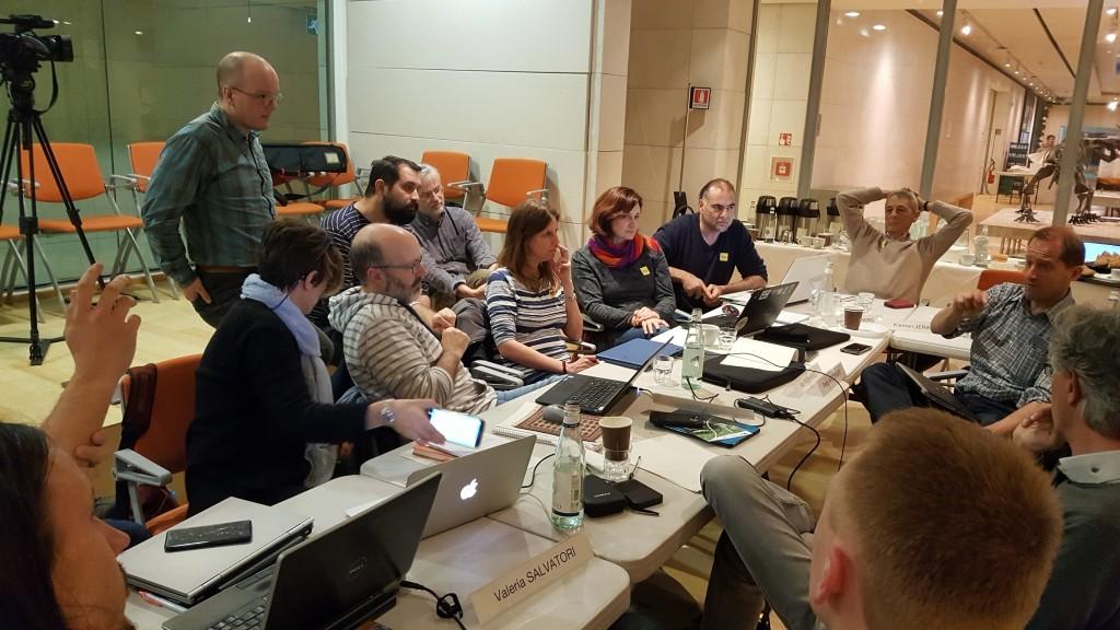 Hybridisierung - heißes Thema in der Arbeitsgruppe.